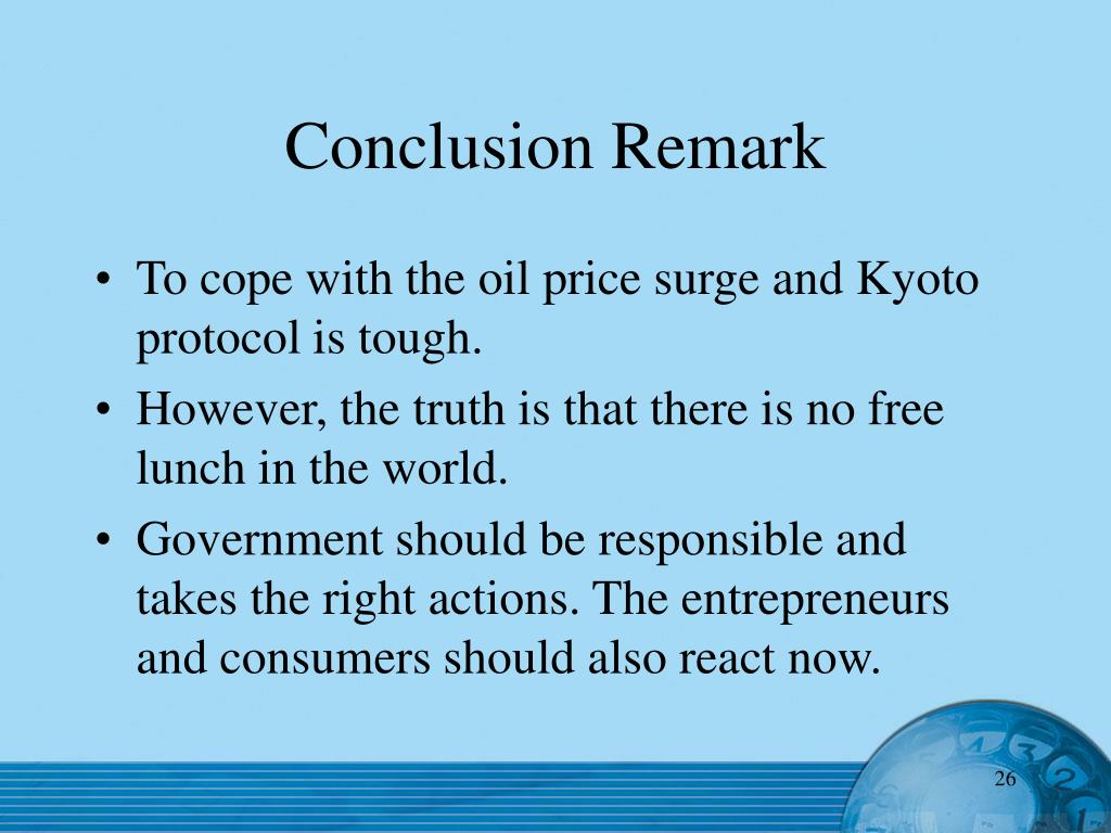 Conclusion Remark
