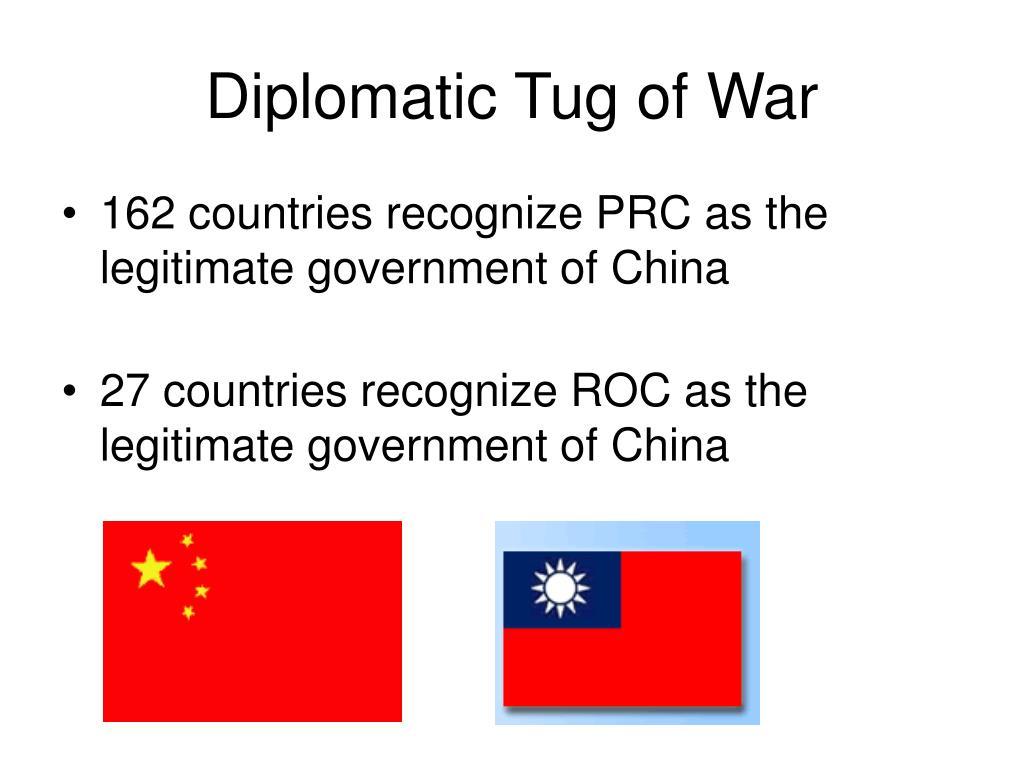 Diplomatic Tug of War