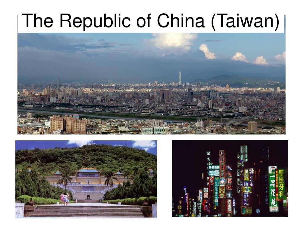 The Republic of China (Taiwan)