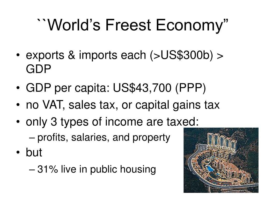 "``World's Freest Economy"""