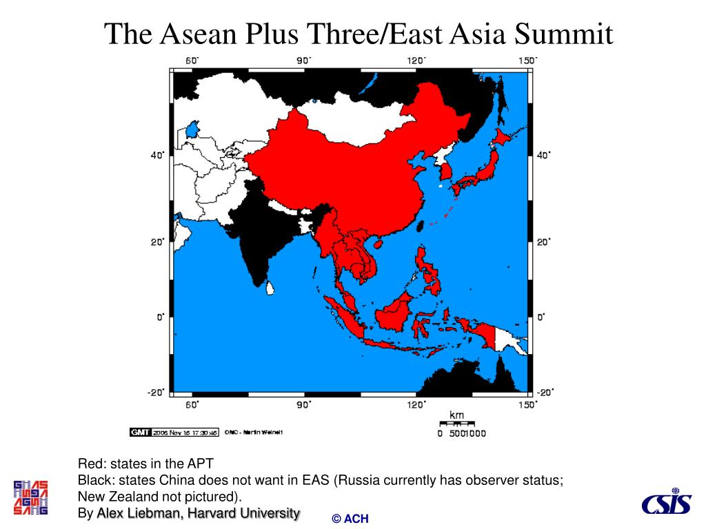 The Asean Plus Three/East Asia Summit