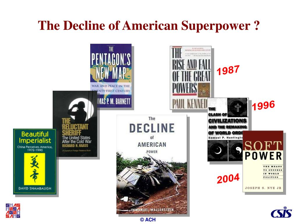 The Decline of American Superpower ?