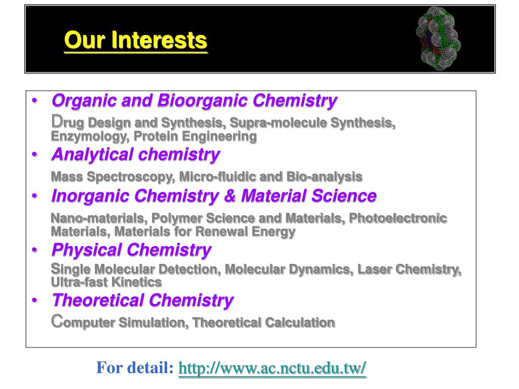 Our Interests