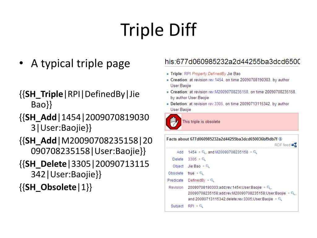 Triple Diff