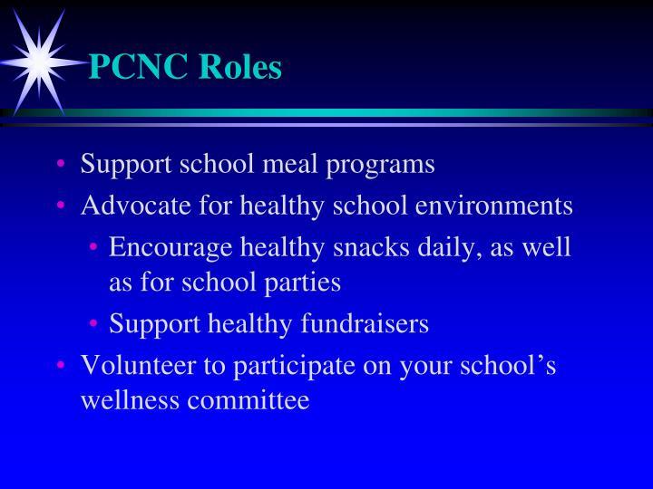 PCNC Roles