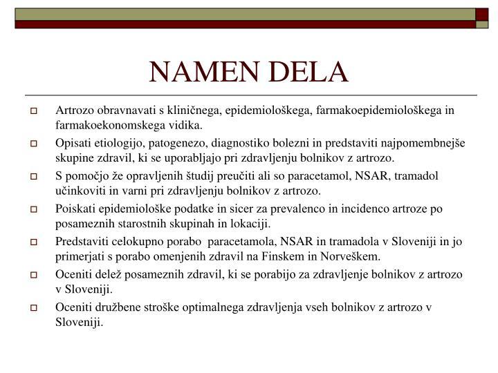 NAMEN DELA