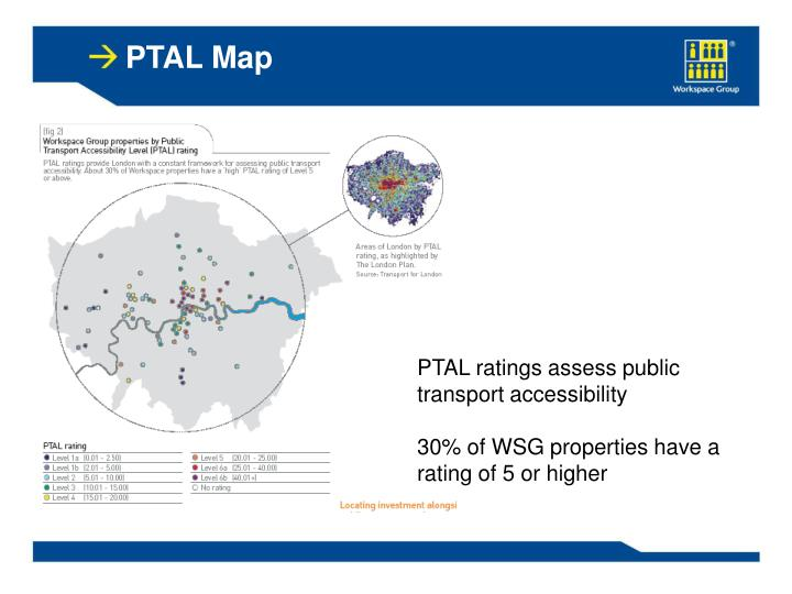 PTAL Map
