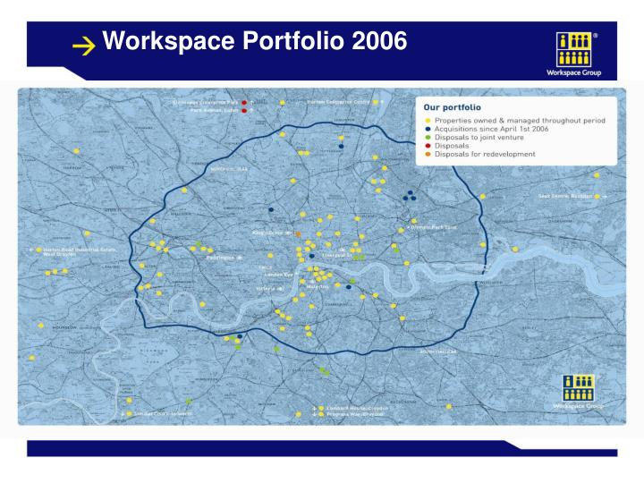 Workspace Portfolio 2006