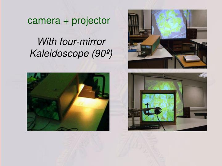camera + projector