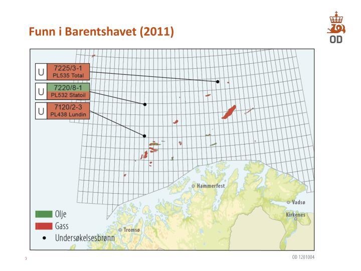 Funn i Barentshavet (2011)