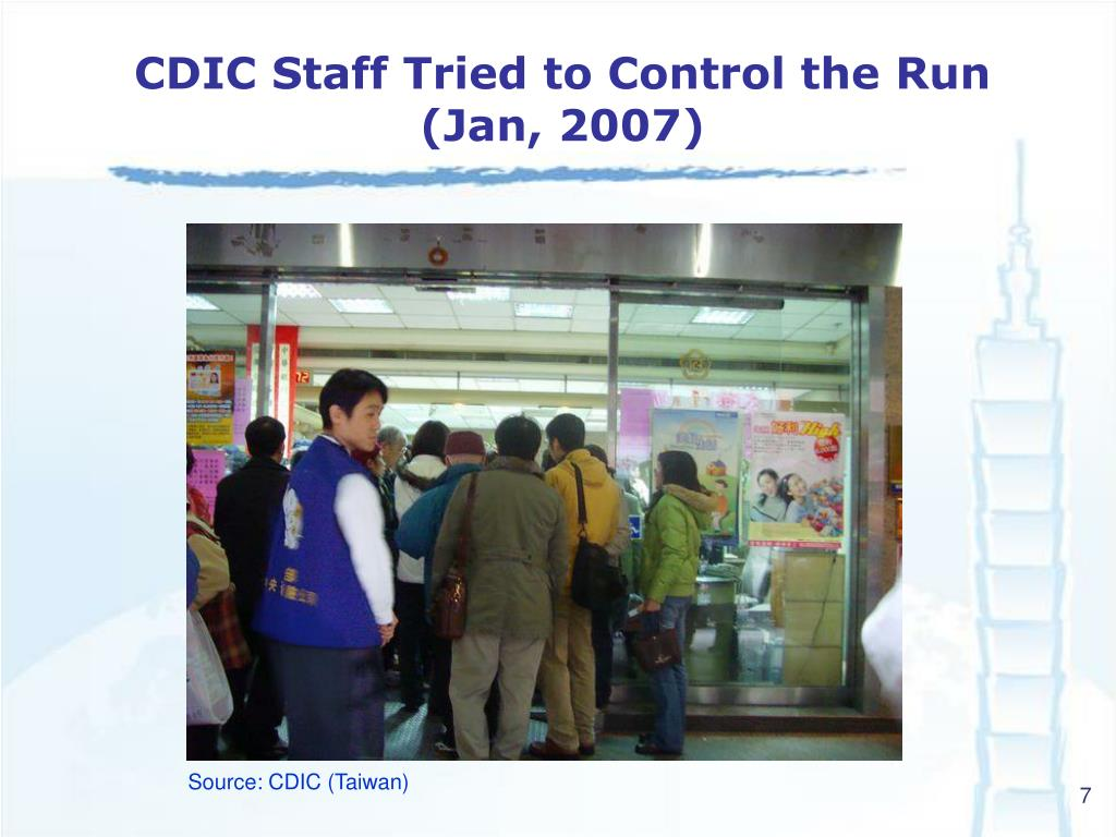 CDIC Staff Tried to Control the Run