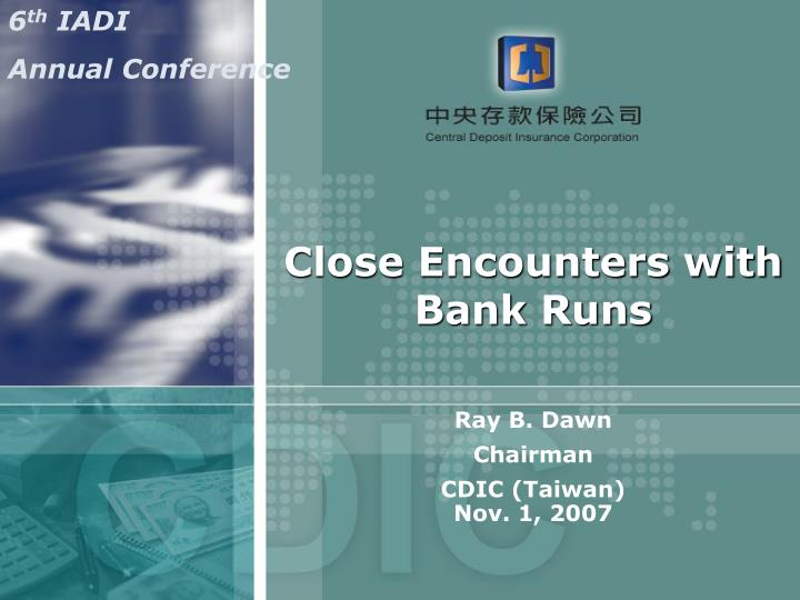 Close encounters with bank runs l.jpg
