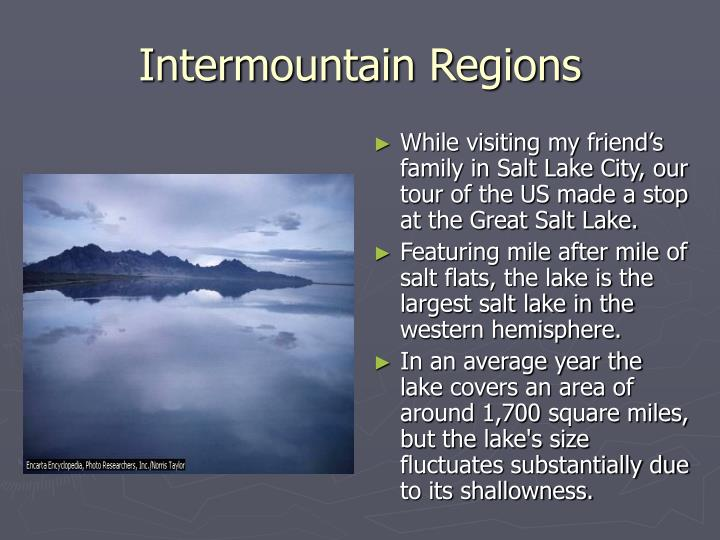 Intermountain Regions