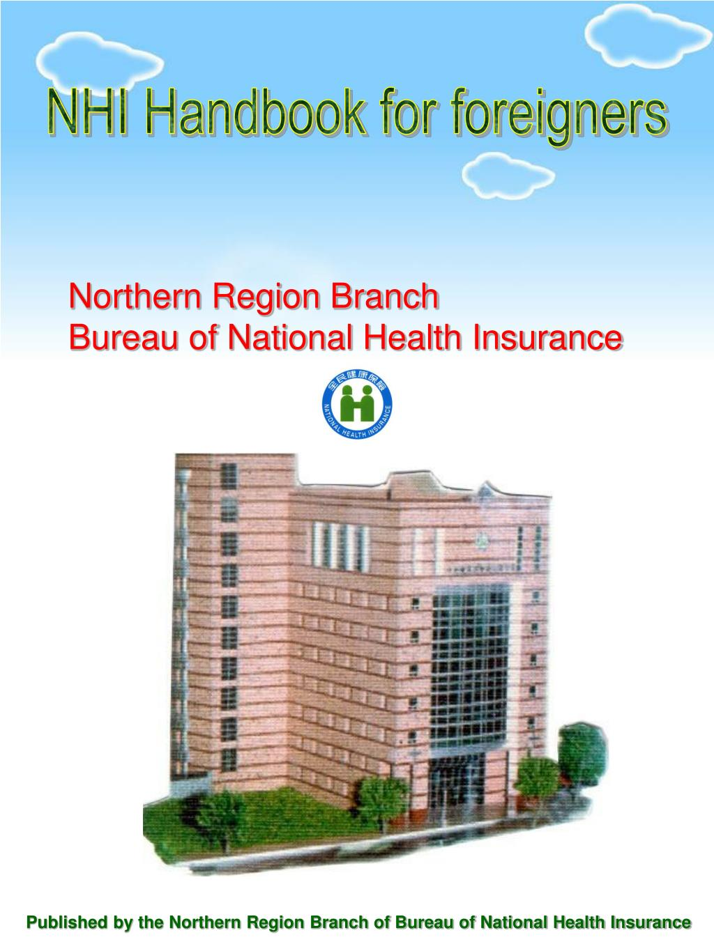 NHI Handbook for foreigners