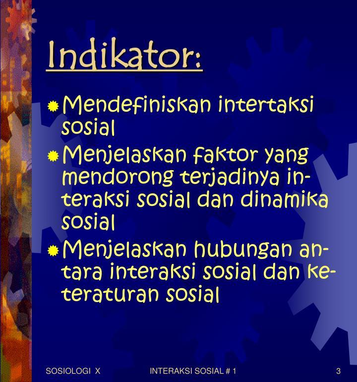 Indikator: