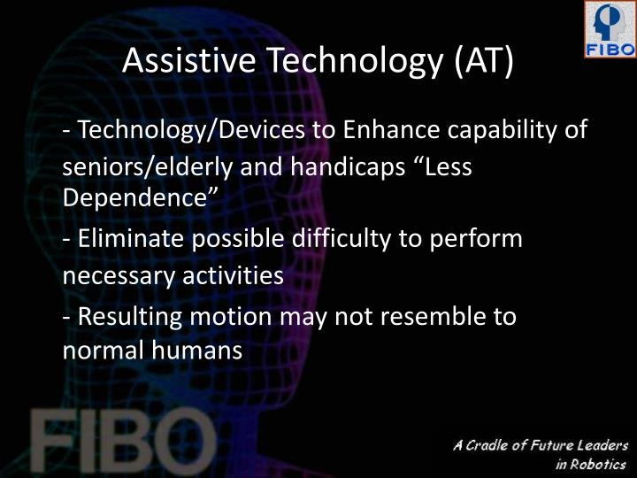 Assistive Technology (AT)
