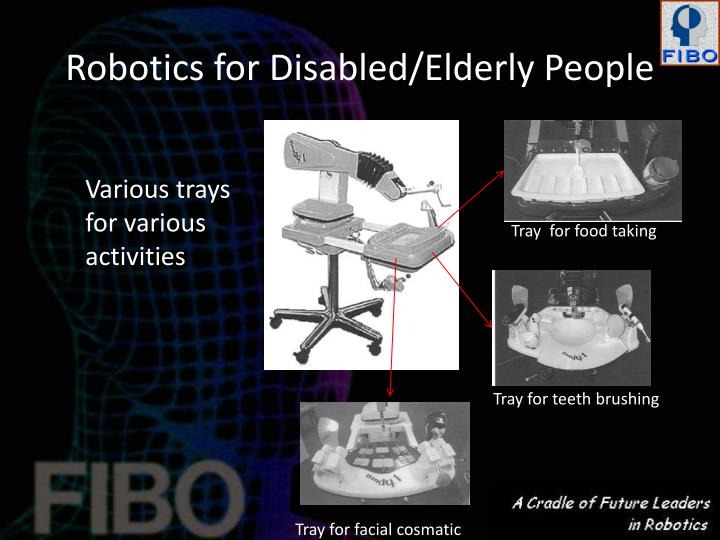Robotics for Disabled/Elderly People