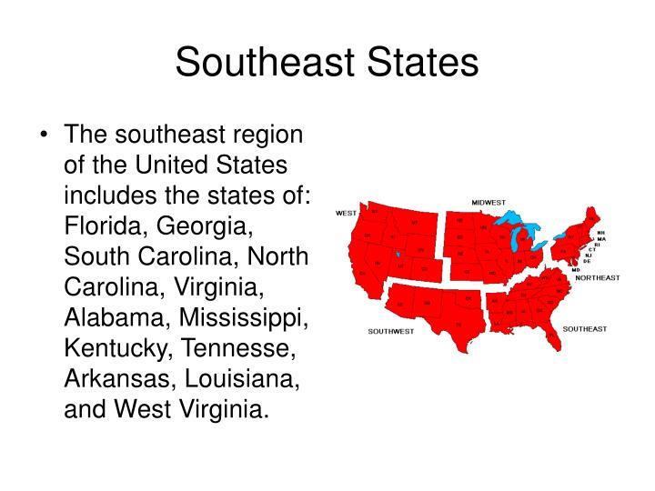 Southeast States