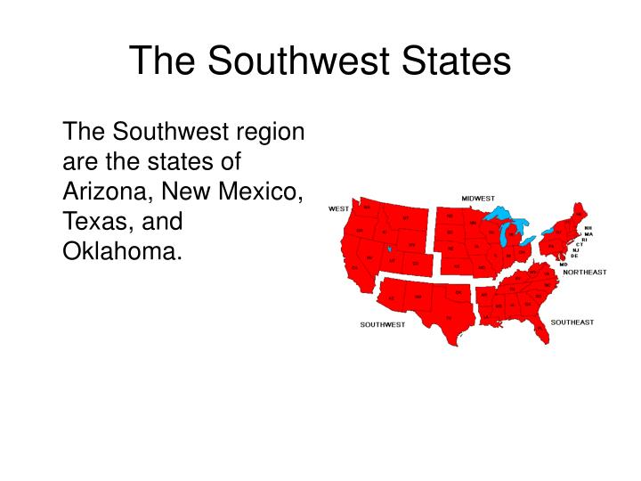 The Southwest States