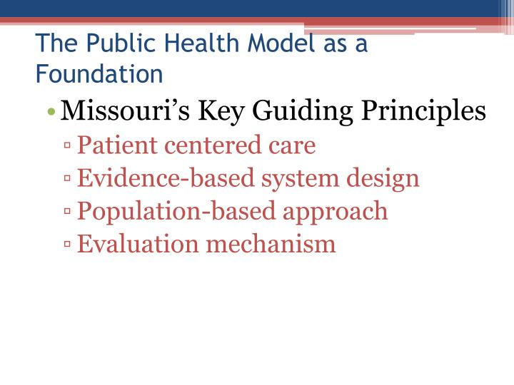 Missouri's Key Guiding Principles