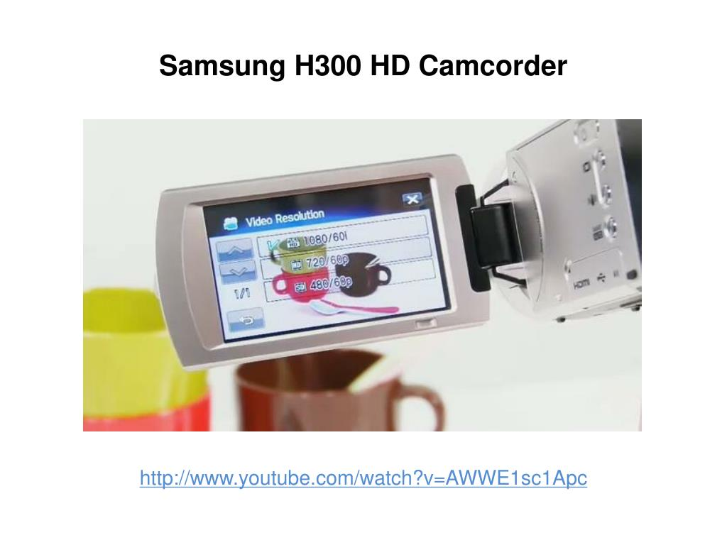 Samsung H300 HD Camcorder