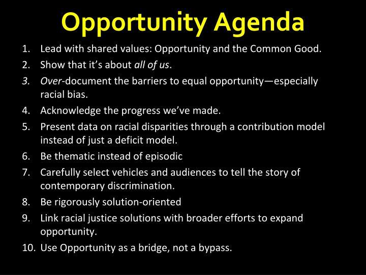 Opportunity Agenda