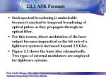 2 1 1 ask formats9
