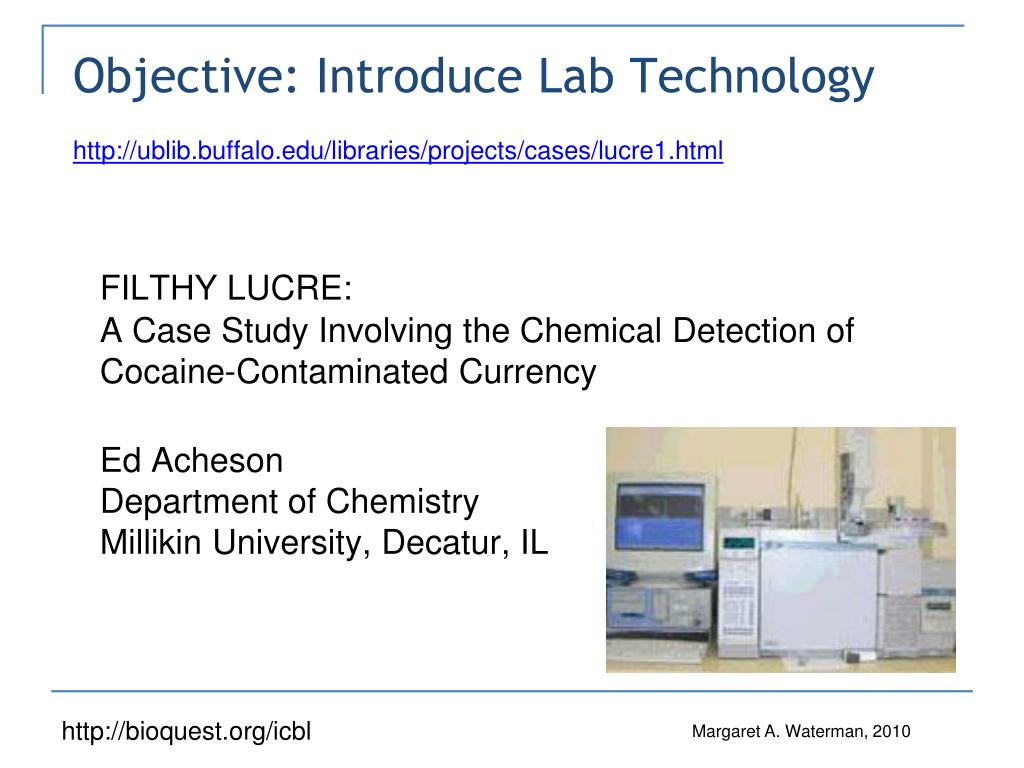 Objective: Introduce Lab Technology
