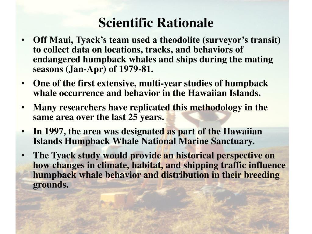 Scientific Rationale