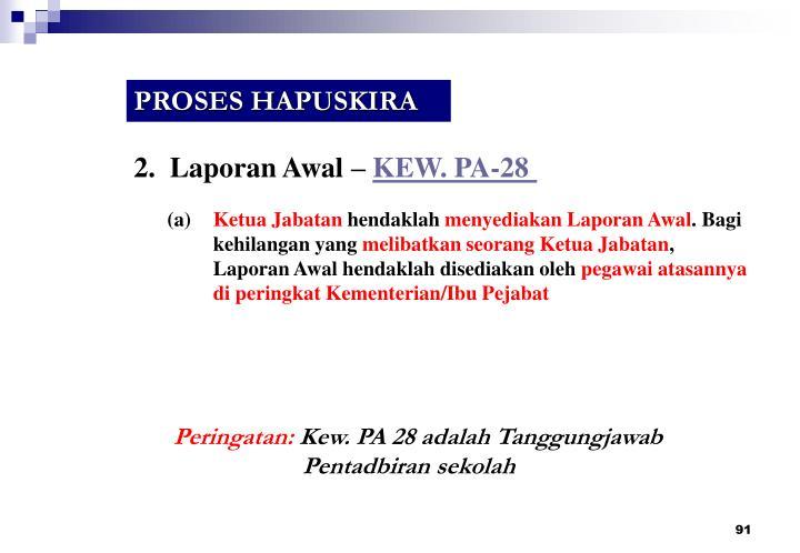 PROSES HAPUSKIRA