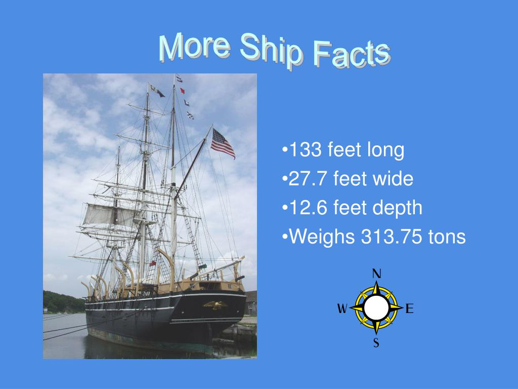More Ship Facts