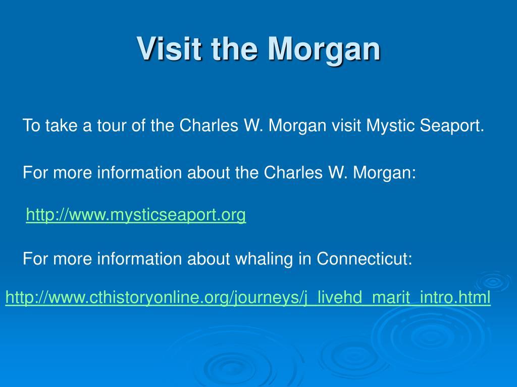 Visit the Morgan