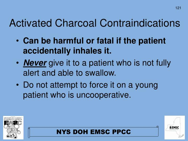 Activated Charcoal Contraindications