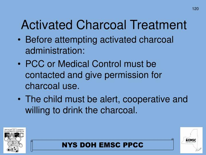 Activated Charcoal Treatment