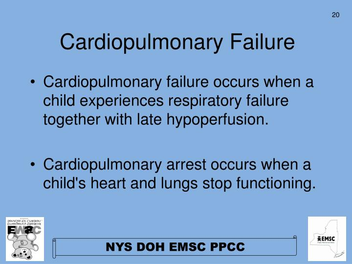 Cardiopulmonary Failure