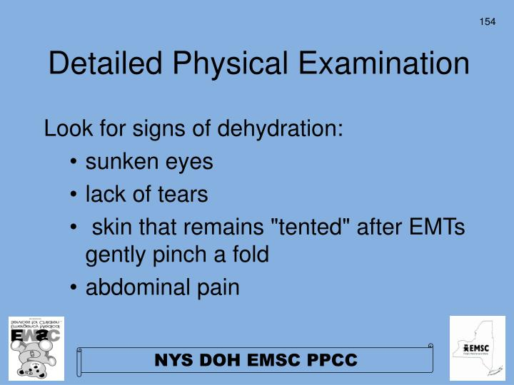 Detailed Physical Examination