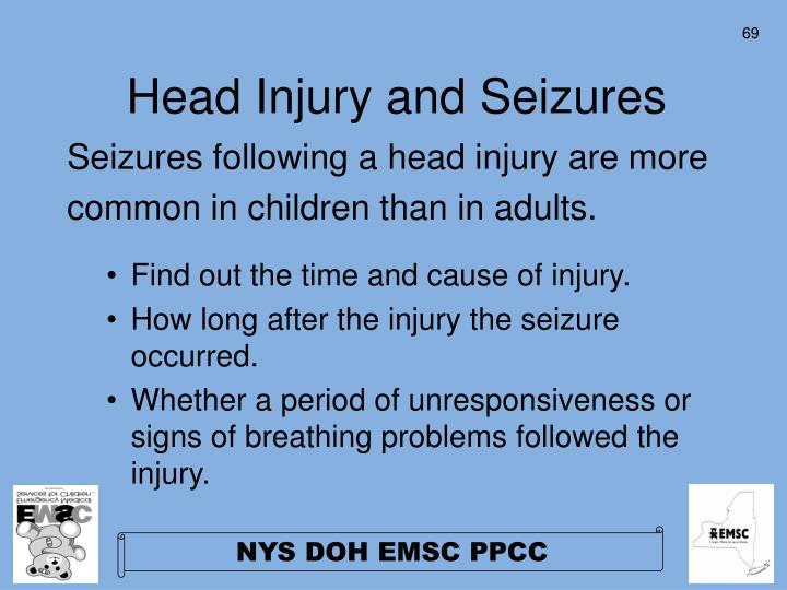 Head Injury and Seizures