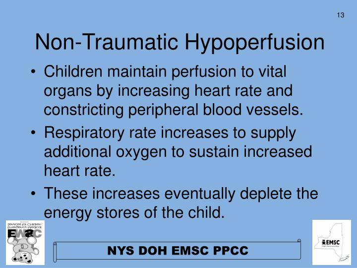 Non-Traumatic Hypoperfusion