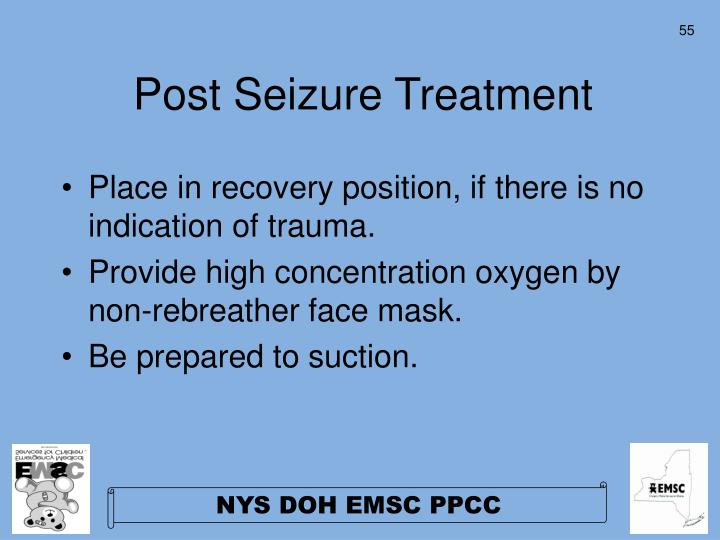 Post Seizure Treatment