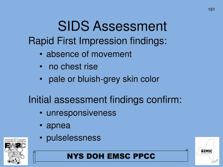 SIDS Assessment