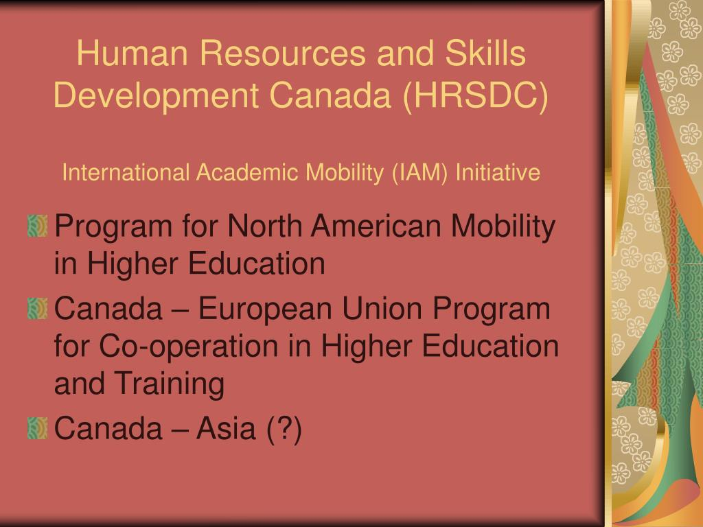 Human Resources and Skills Development Canada (HRSDC)