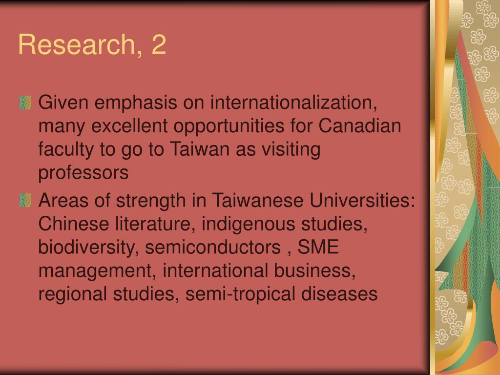 Research, 2
