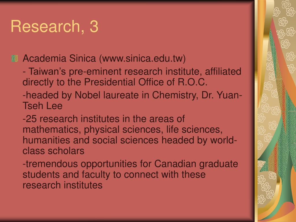 Research, 3