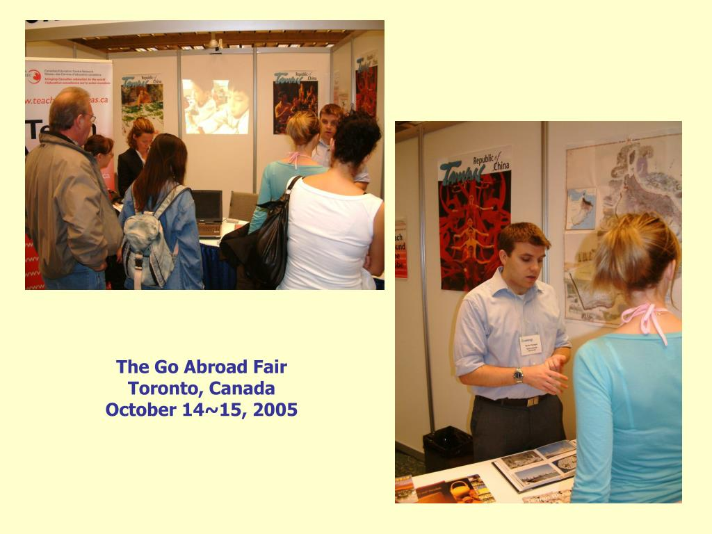 The Go Abroad Fair