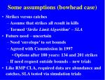 some assumptions bowhead case