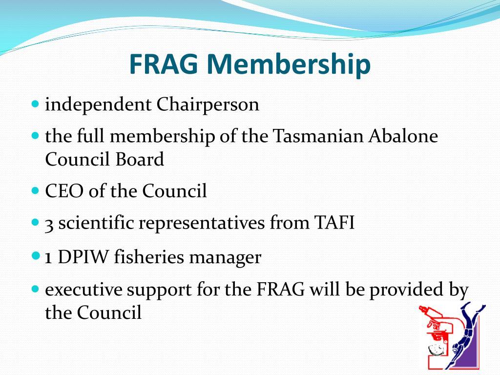 FRAG Membership