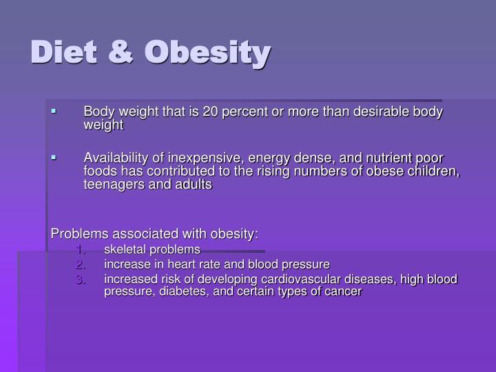Diet & Obesity