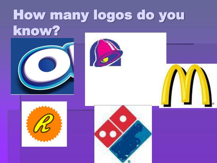 How many logos do you know?