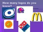 how many logos do you know