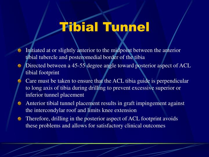 Tibial Tunnel